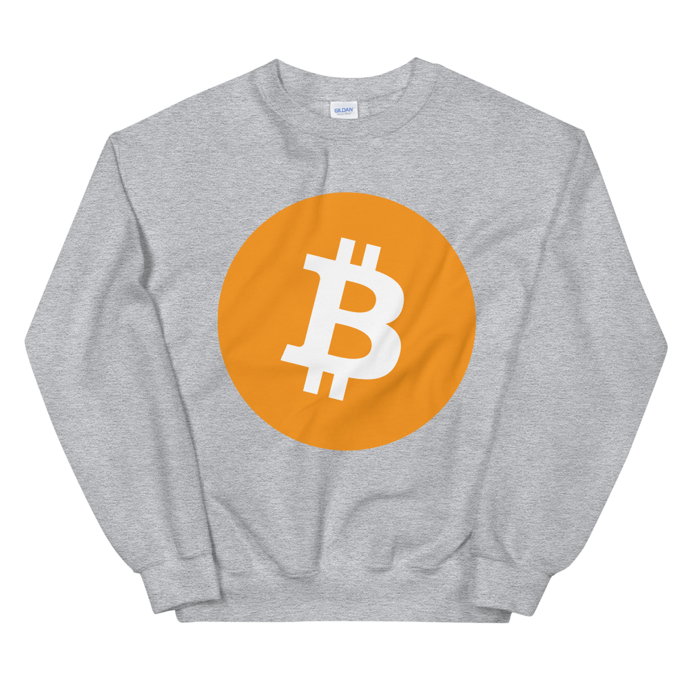 Bitcoin Core Women's Sweatshirt Sport Grey S - zeroconfs