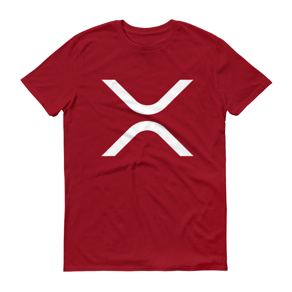 Ripple Short-Sleeve T-Shirt Independence Red S - zeroconfs