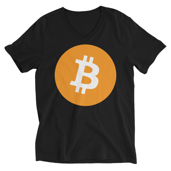 Bitcoin Core V-Neck T-Shirt Black S - zeroconfs