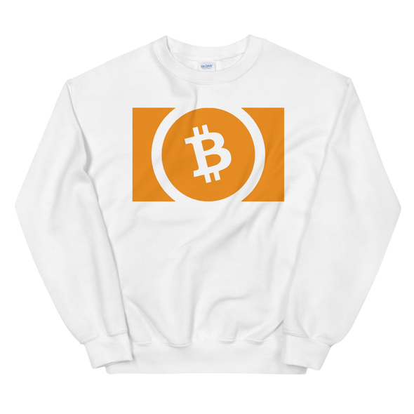 Bitcoin Cash Women's Sweatshirt White S - zeroconfs
