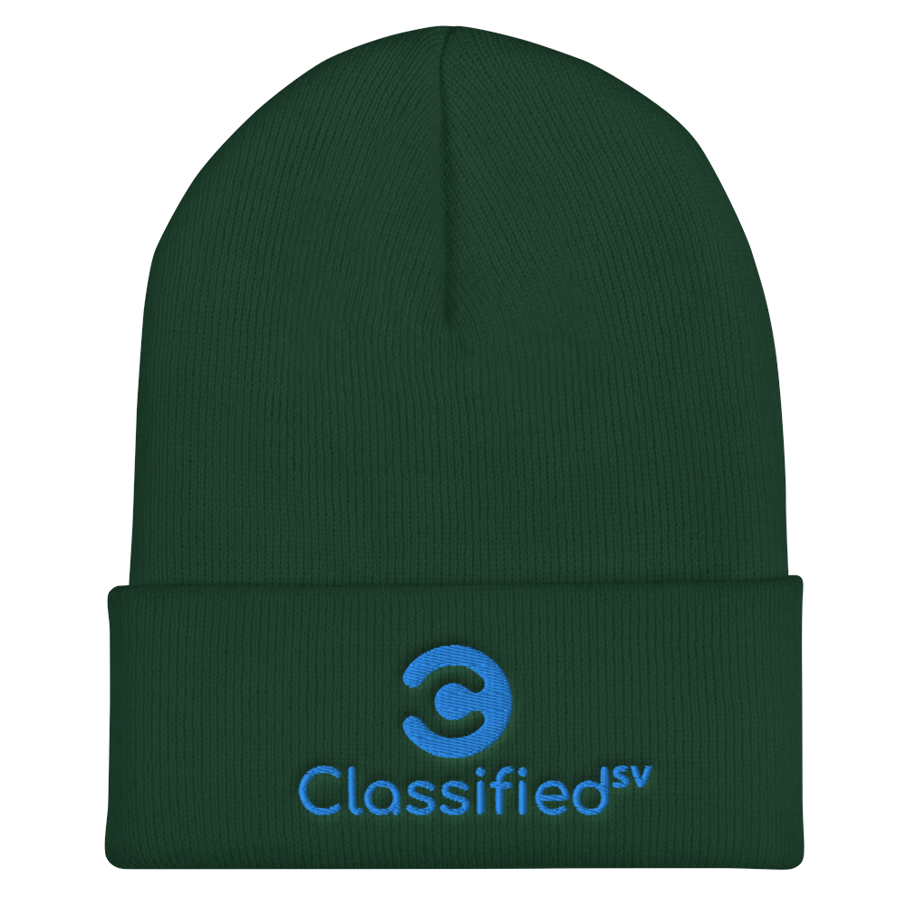 Classified SV Cuffed Beanie Spruce  - zeroconfs