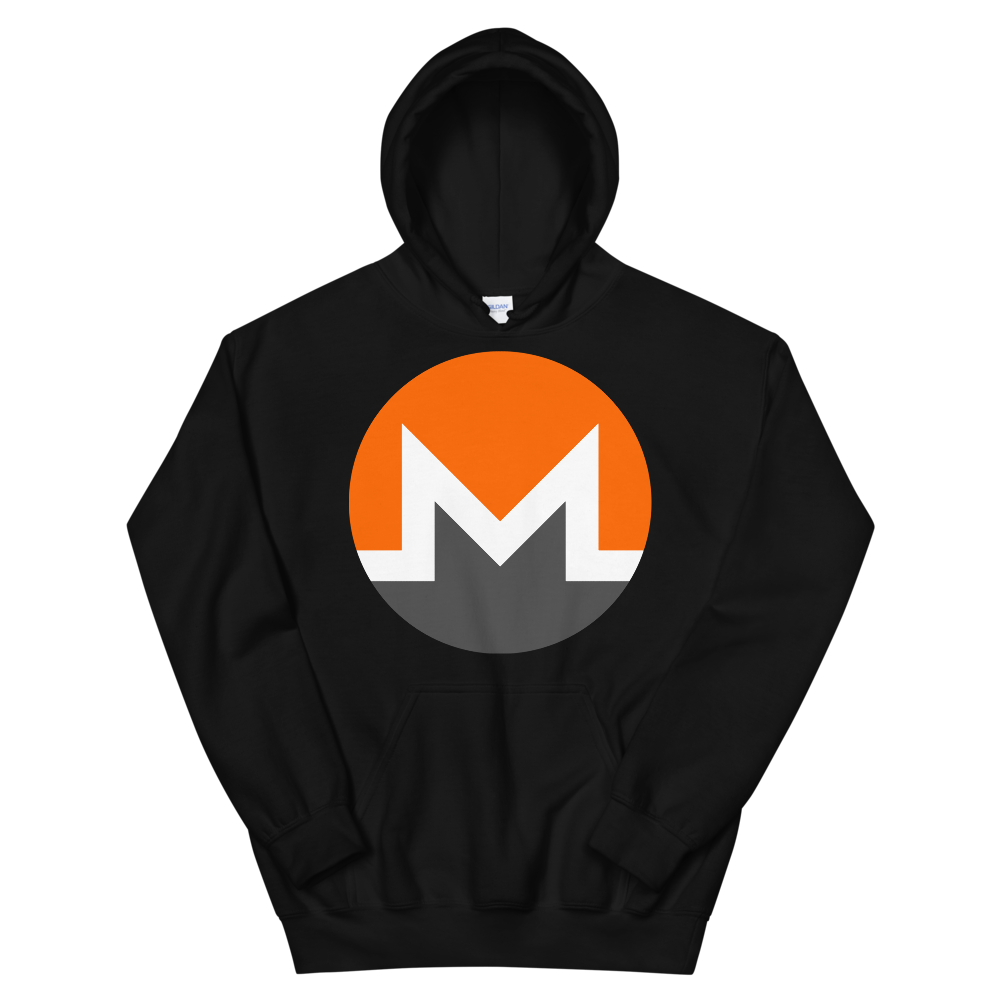 Monero Hooded Sweatshirt Black S - zeroconfs