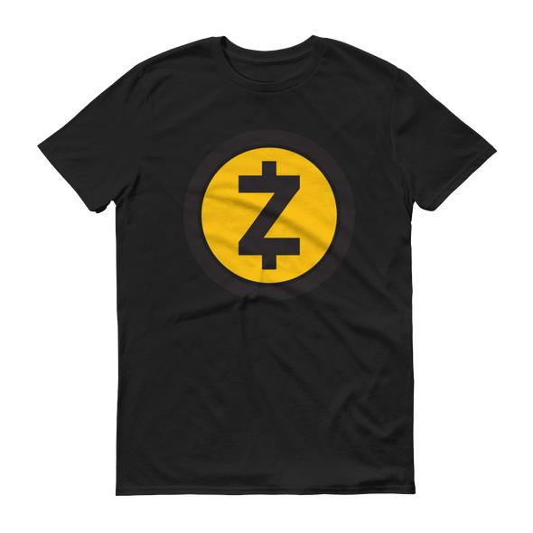Zcash Short-Sleeve T-Shirt Black S - zeroconfs