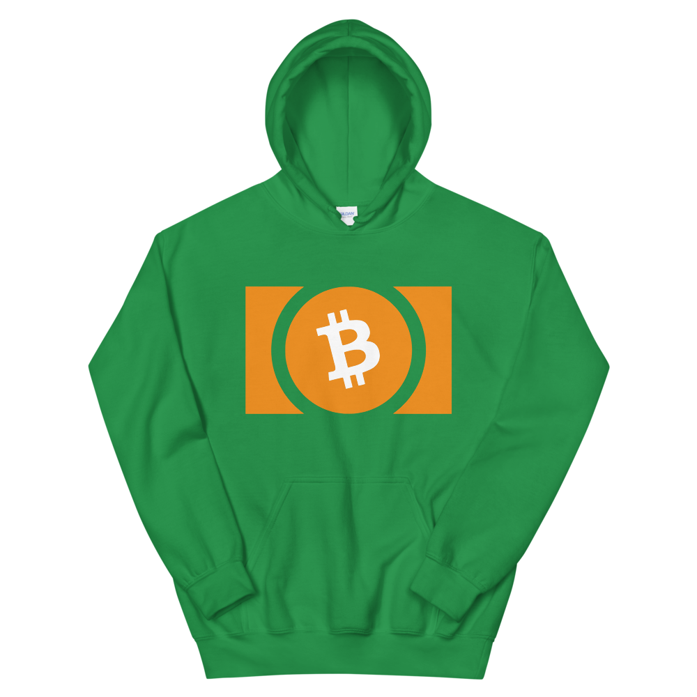 Bitcoin Cash Women's Hooded Sweatshirt Irish Green S - zeroconfs