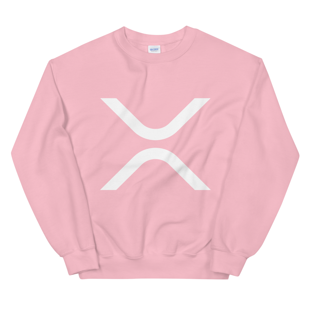 Ripple Women's Sweatshirt Light Pink S - zeroconfs