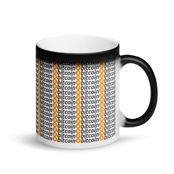 Bitcoins Magic Mug Default Title  - zeroconfs