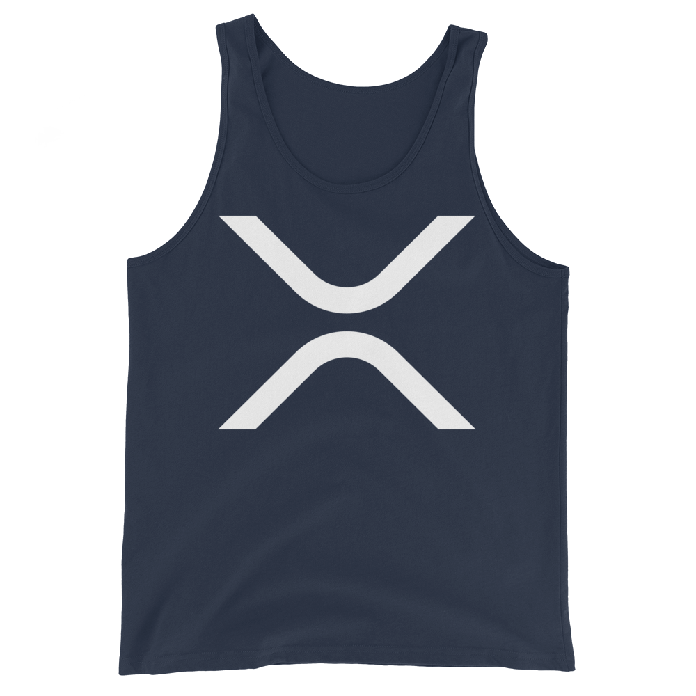 Ripple Tank Top Navy XS - zeroconfs
