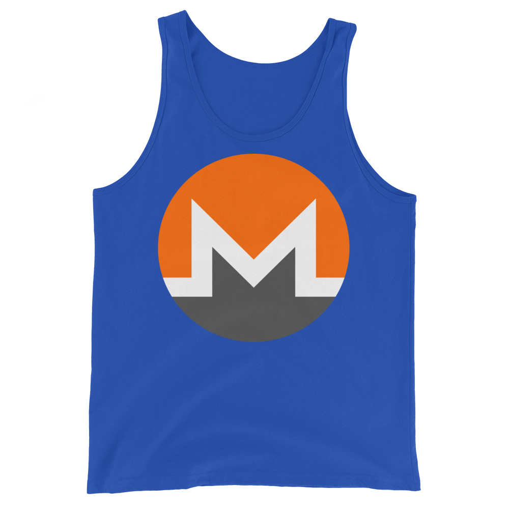 Monero Tank Top True Royal XS - zeroconfs