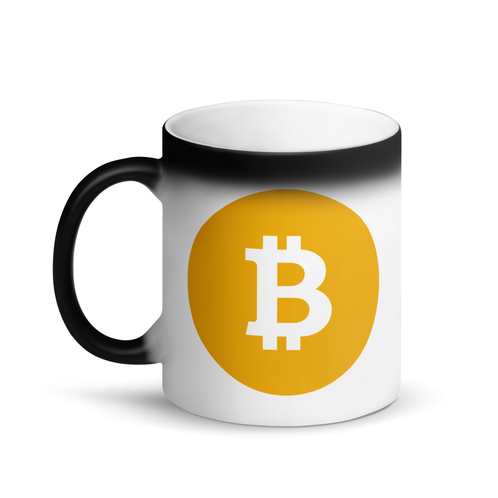 Bitcoin SV Logo Magic Mug   - zeroconfs