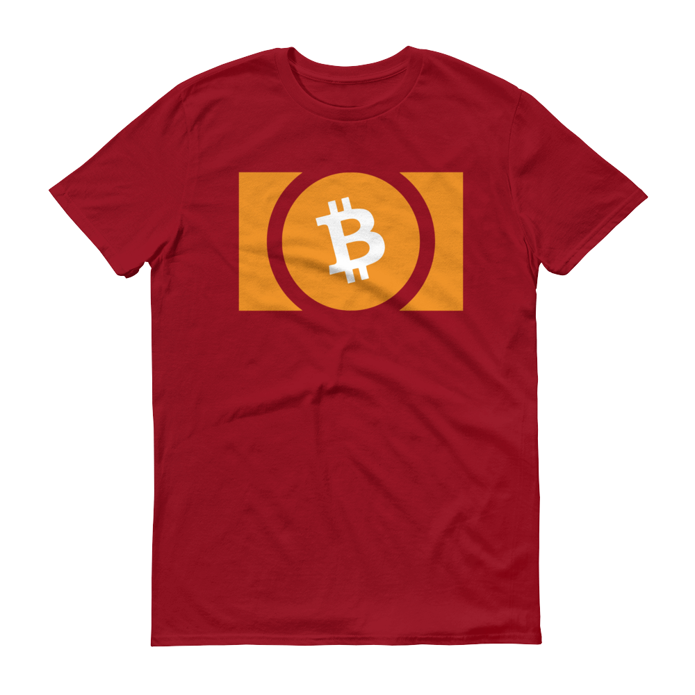 Bitcoin Cash Short-Sleeve T-Shirt Independence Red S - zeroconfs