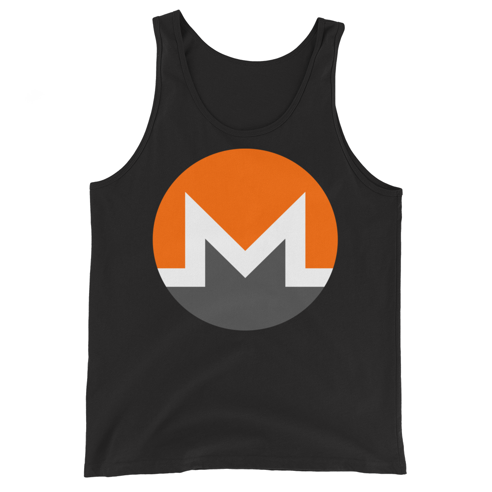 Monero Tank Top Black XS - zeroconfs