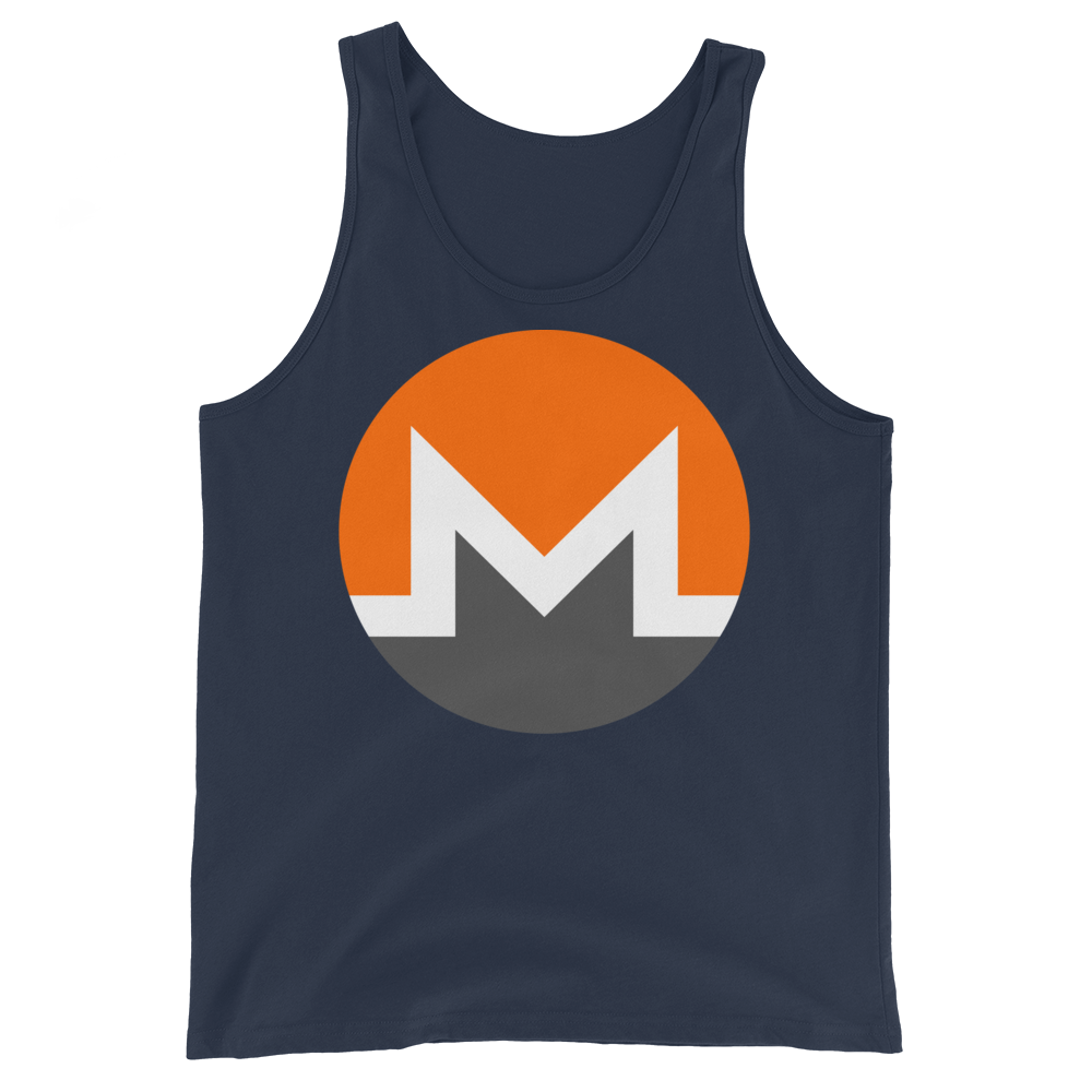 Monero Tank Top Navy XS - zeroconfs