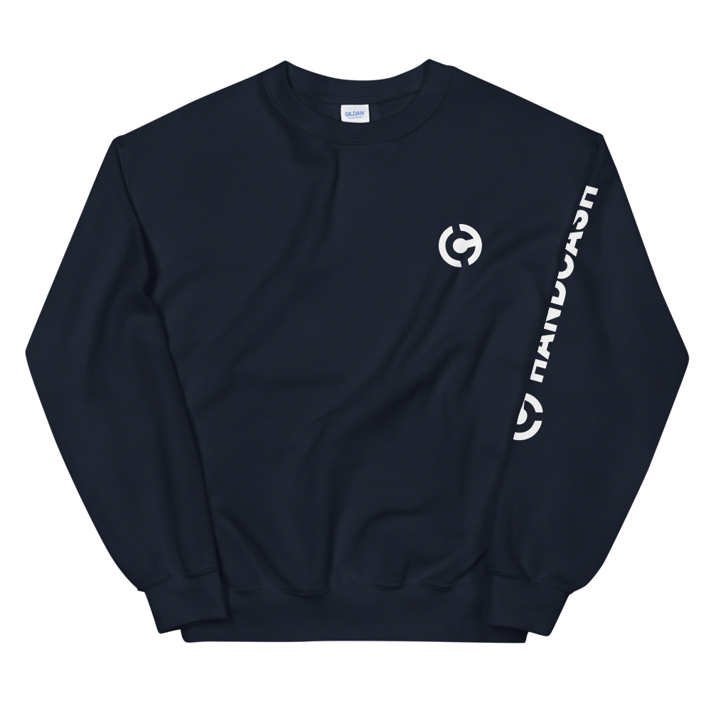 HandCash Official Women's Sweatshirt Navy S - zeroconfs