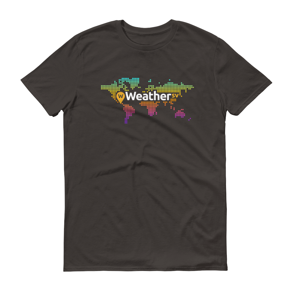 Weather SV Short-Sleeve T-Shirt Smoke S - zeroconfs