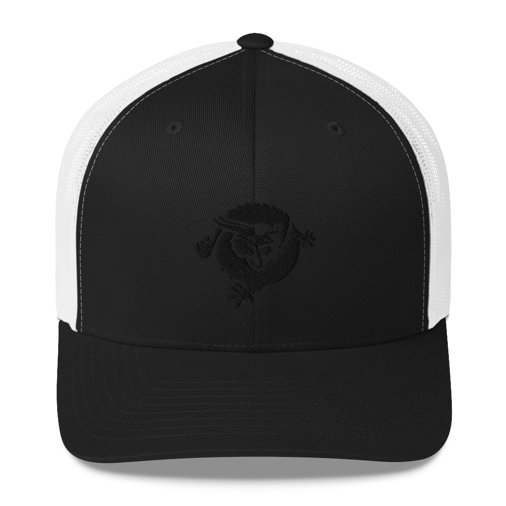 Bitcoin SV Dragon Trucker Cap Black Black/ White  - zeroconfs