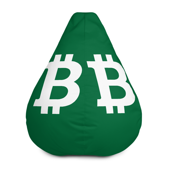 Bitcoin SV Green Bean Bag Cover Only Default Title  - zeroconfs