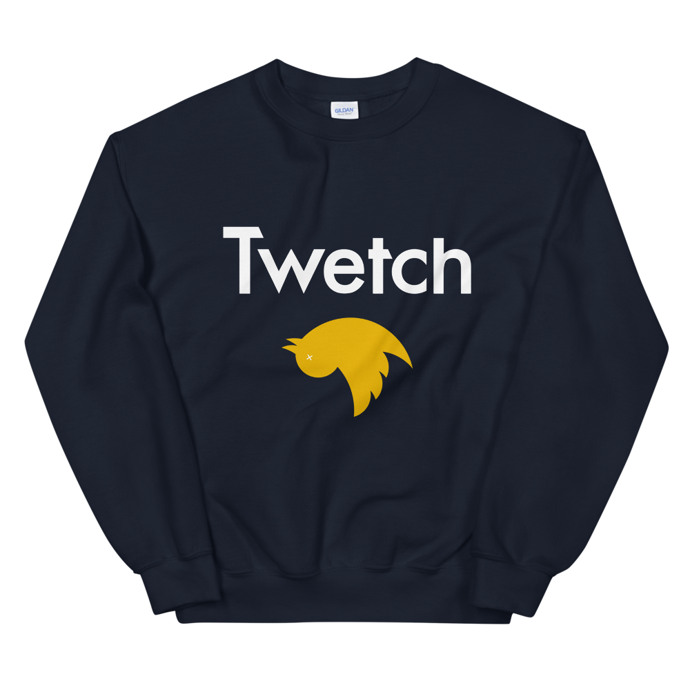 Twetch Women's Sweatshirt Navy S - zeroconfs
