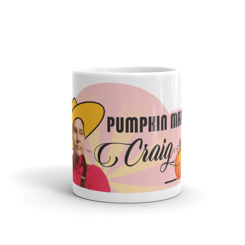 Pumpkin Man Craig Coffee Mug   - zeroconfs