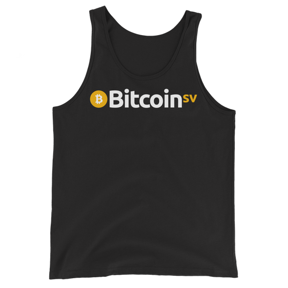 Bitcoin SV Tank Top Black XS - zeroconfs
