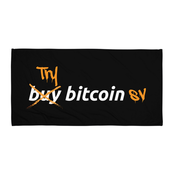 Try Bitcoin SV Beach Towel Default Title  - zeroconfs