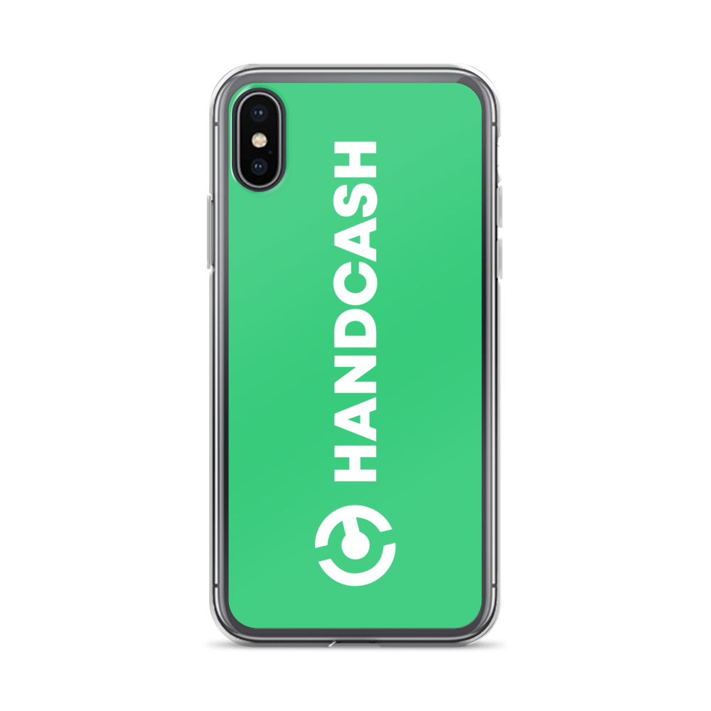 HandCash Official Licensed iPhone Case iPhone X/XS  - zeroconfs