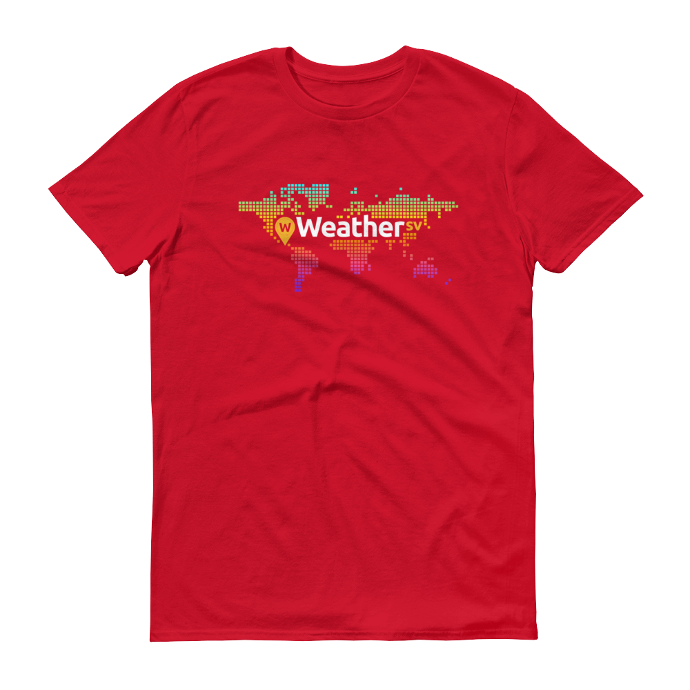 Weather SV Short-Sleeve T-Shirt Red S - zeroconfs