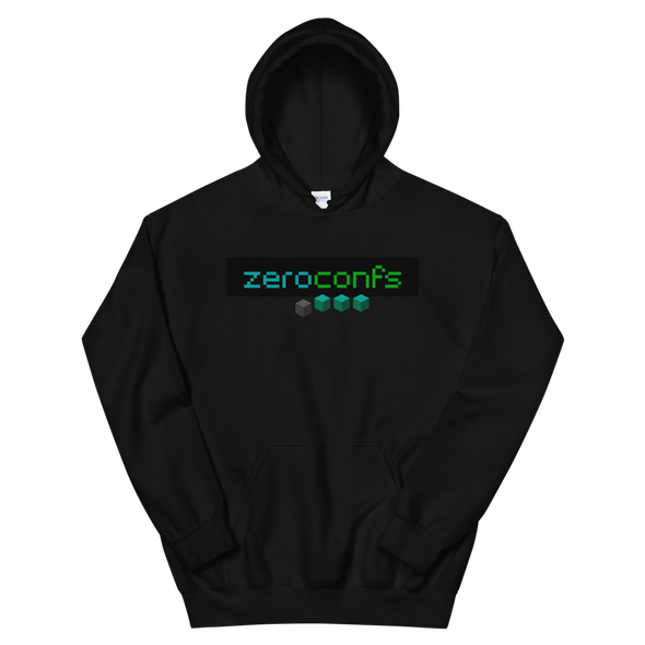 Zeroconfs.com Women's Hooded Sweatshirt Black S - zeroconfs