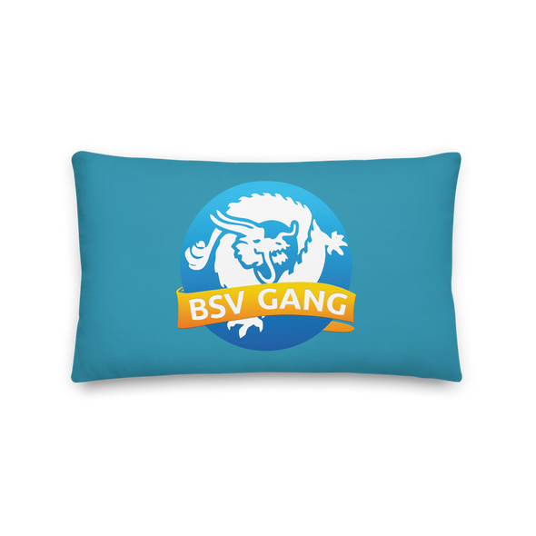 Bitcoin SV Gang Premium Pillow 20×12  - zeroconfs