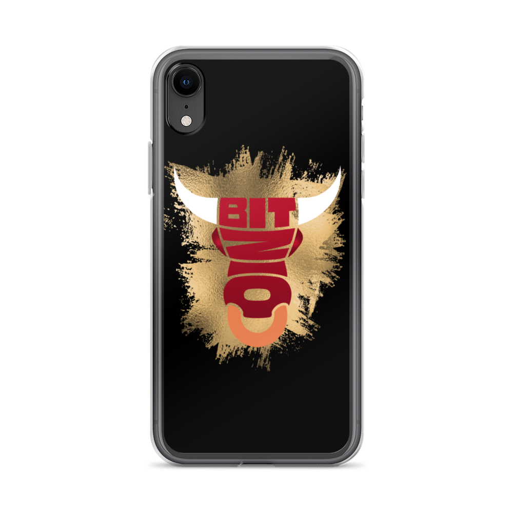 Bitcoin Bull iPhone Case iPhone XR  - zeroconfs