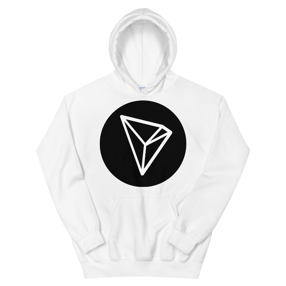 Tron Hooded Sweatshirt White S - zeroconfs