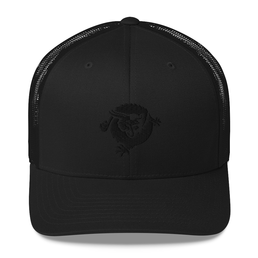 Bitcoin SV Dragon Trucker Cap Black Black  - zeroconfs