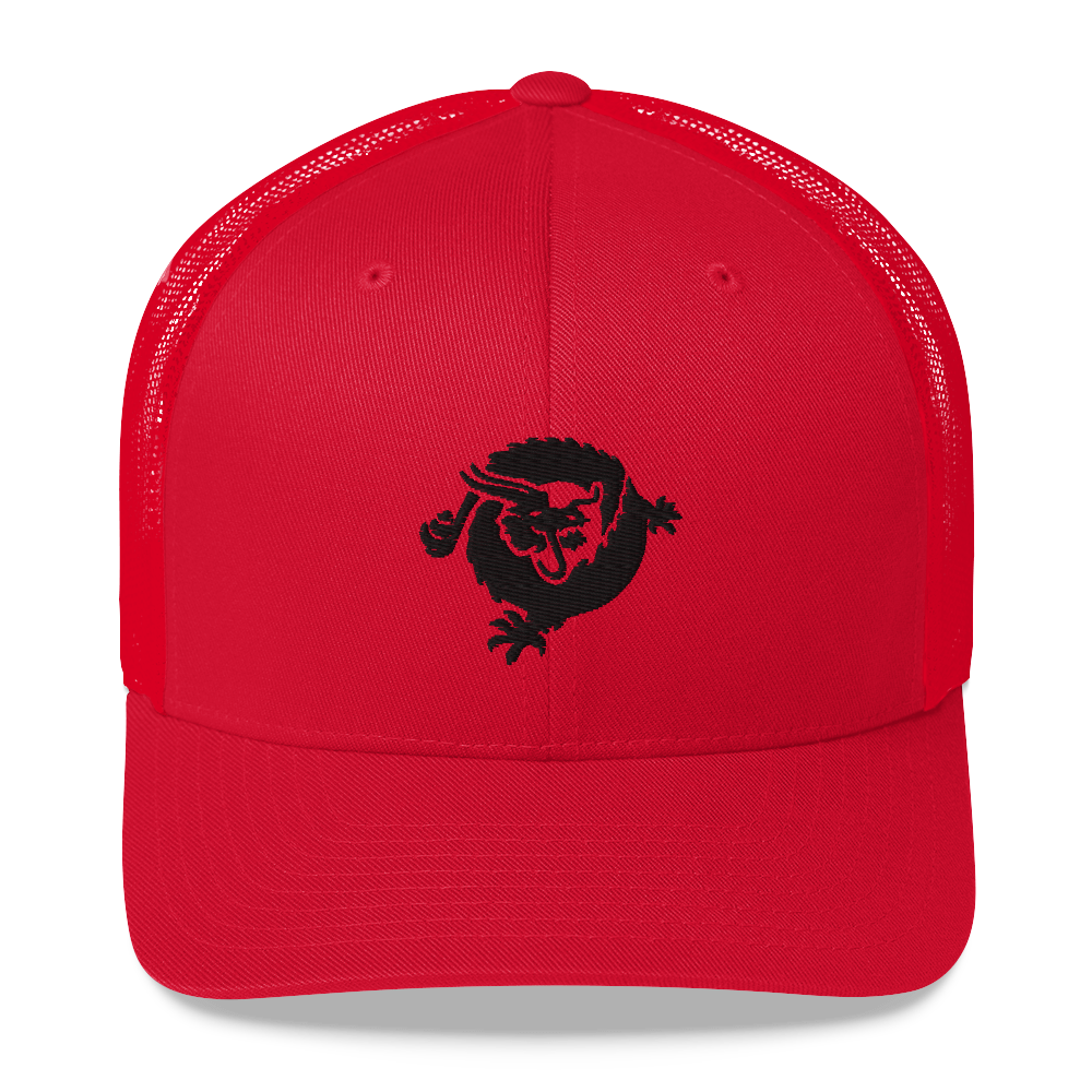 Bitcoin SV Dragon Trucker Cap Black Red  - zeroconfs