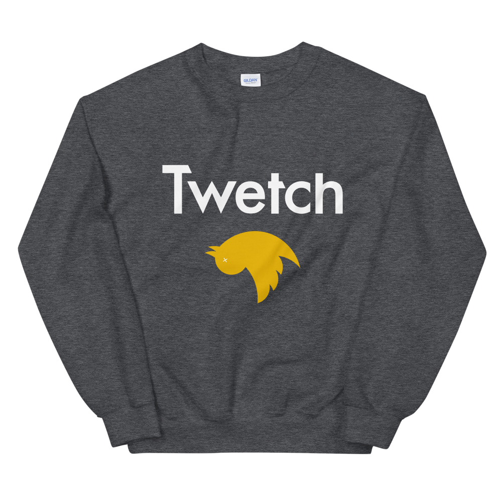 Twetch Sweatshirt Dark Heather S - zeroconfs