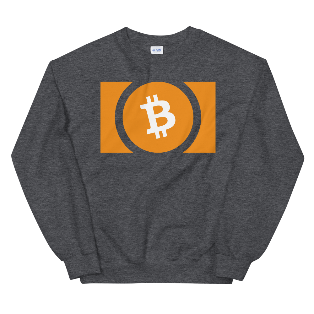 Bitcoin Cash Sweatshirt Dark Heather S - zeroconfs