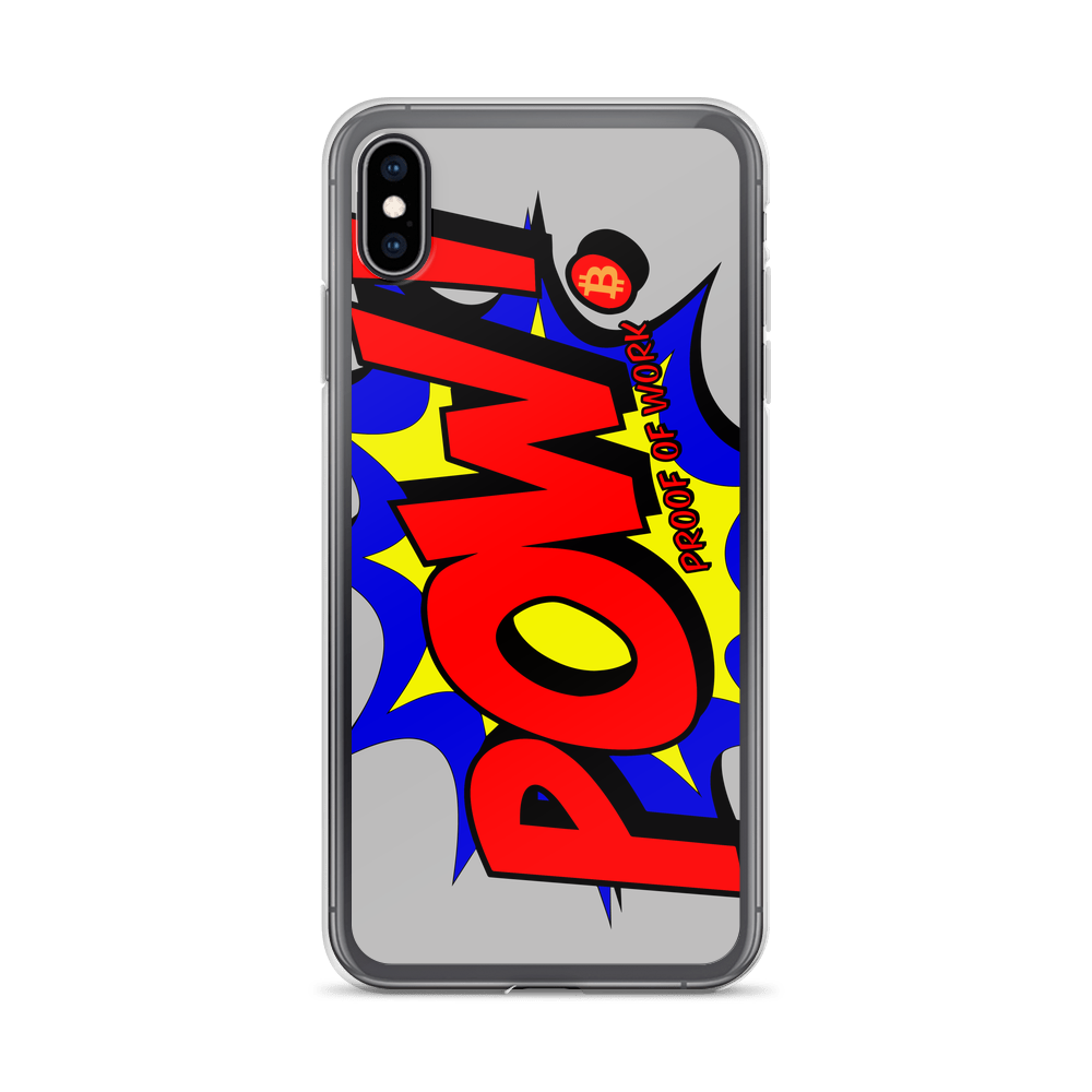 Proof Of Work Bitcoin SV iPhone Case iPhone XS Max  - zeroconfs