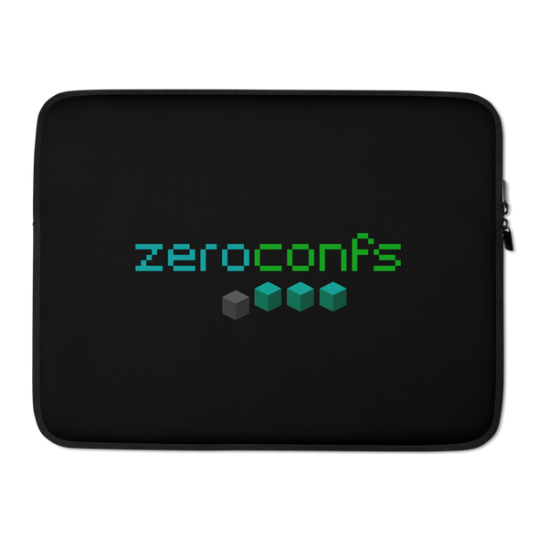 Zeroconfs.com Laptop Sleeve 15 in  - zeroconfs