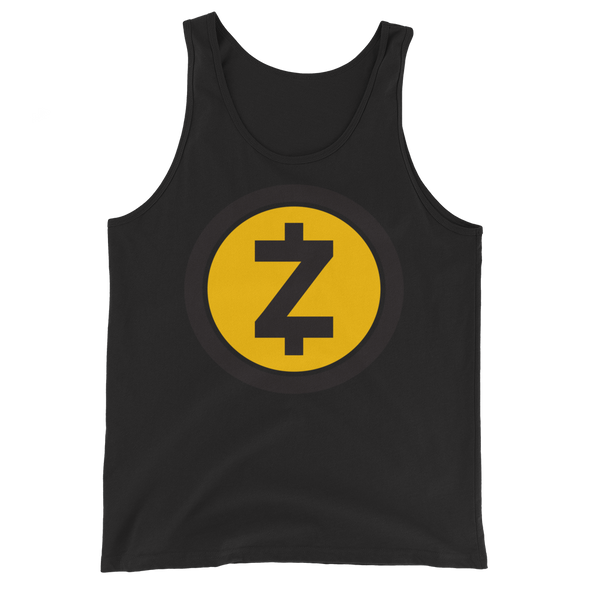 Zcash Tank Top Black XS - zeroconfs