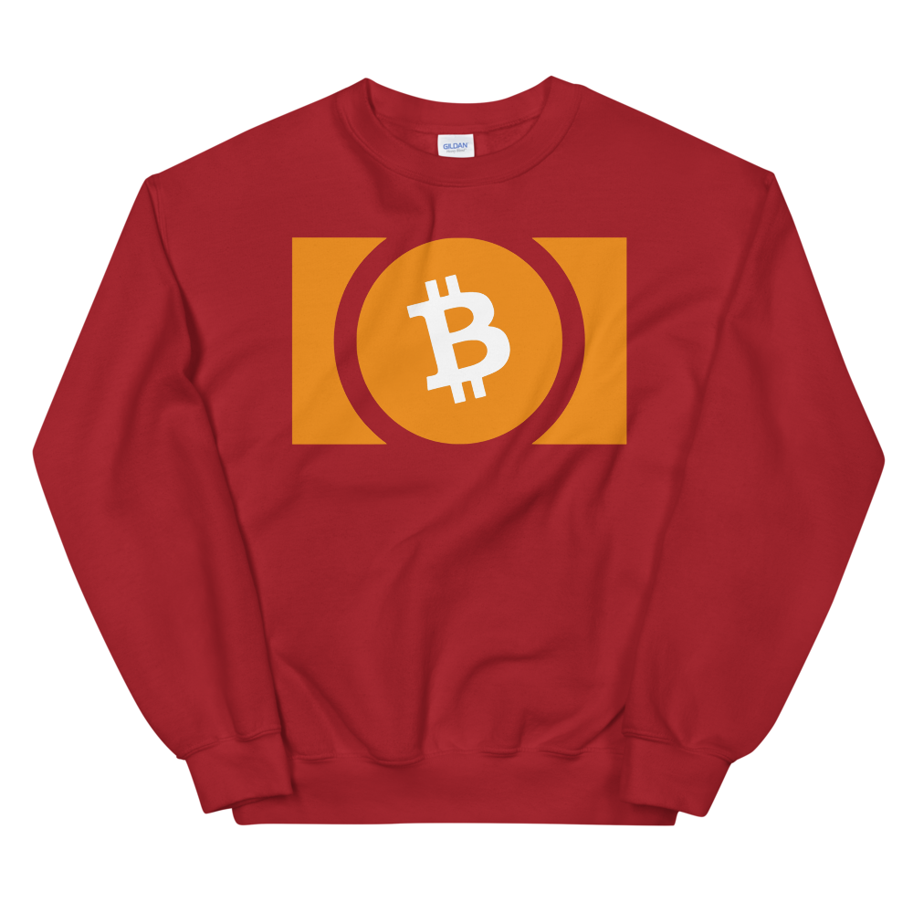 Bitcoin Cash Women's Sweatshirt Red S - zeroconfs