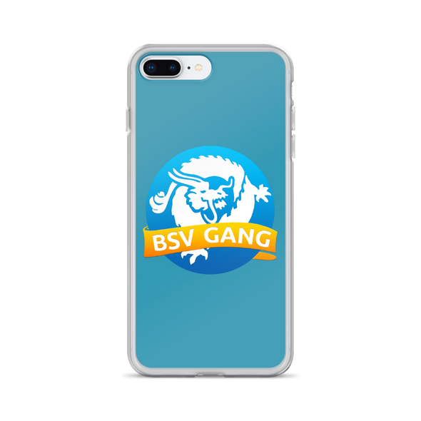 Bitcoin SV Gang iPhone Case Blue iPhone 7 Plus/8 Plus  - zeroconfs