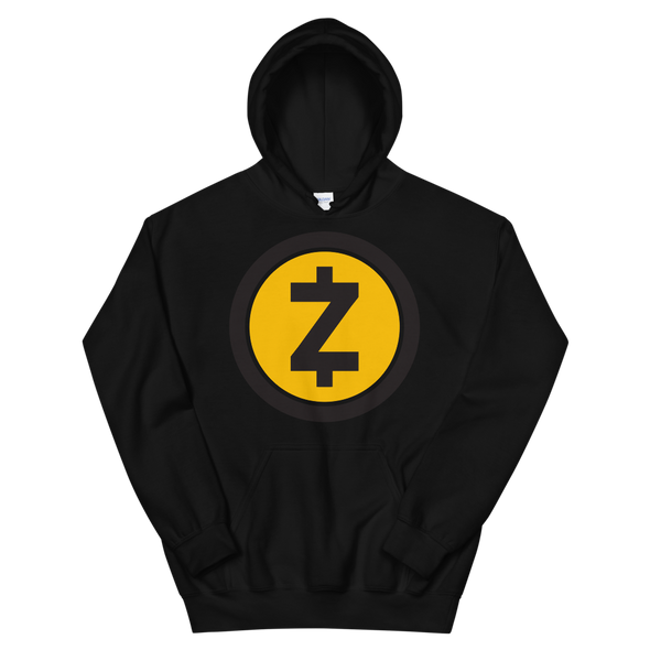 Zcash Hooded Sweatshirt Black S - zeroconfs