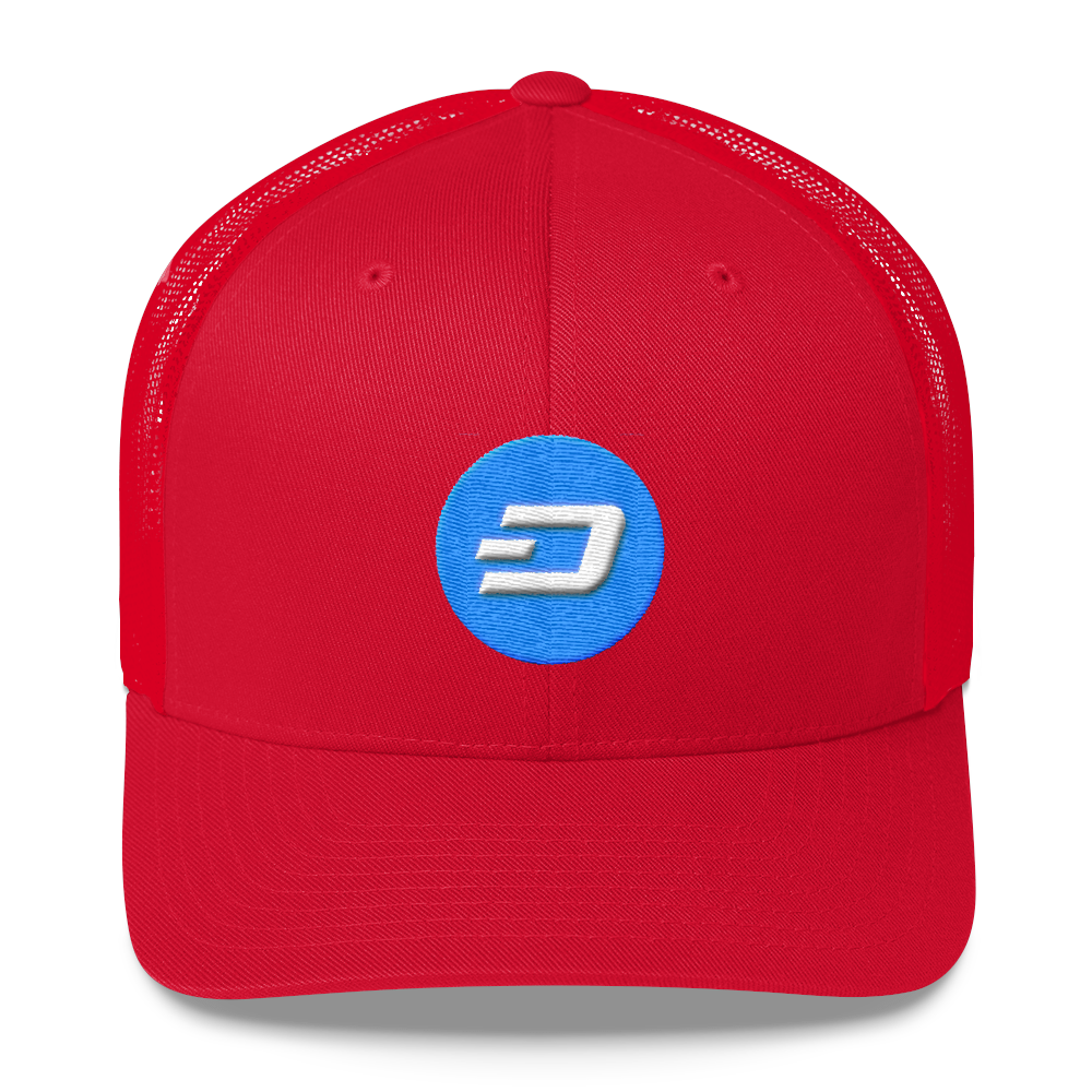 Dash Trucker Cap Red  - zeroconfs