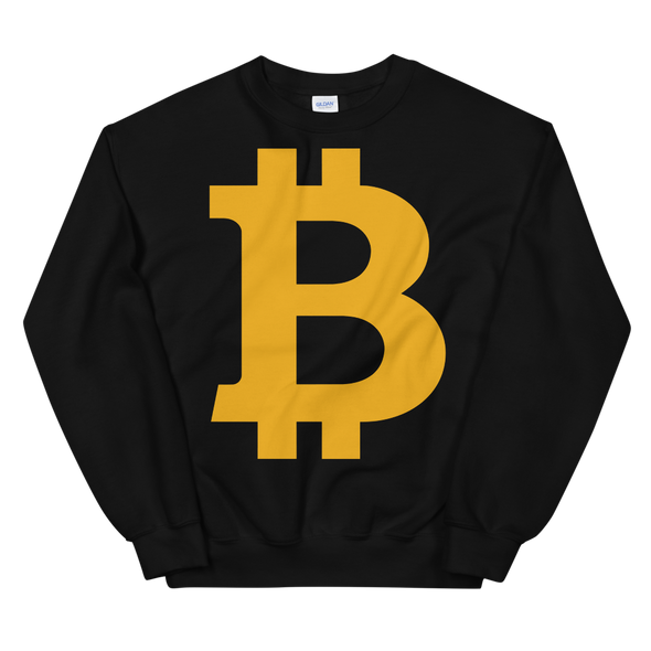 Bitcoin B Women's Sweatshirt Black S - zeroconfs