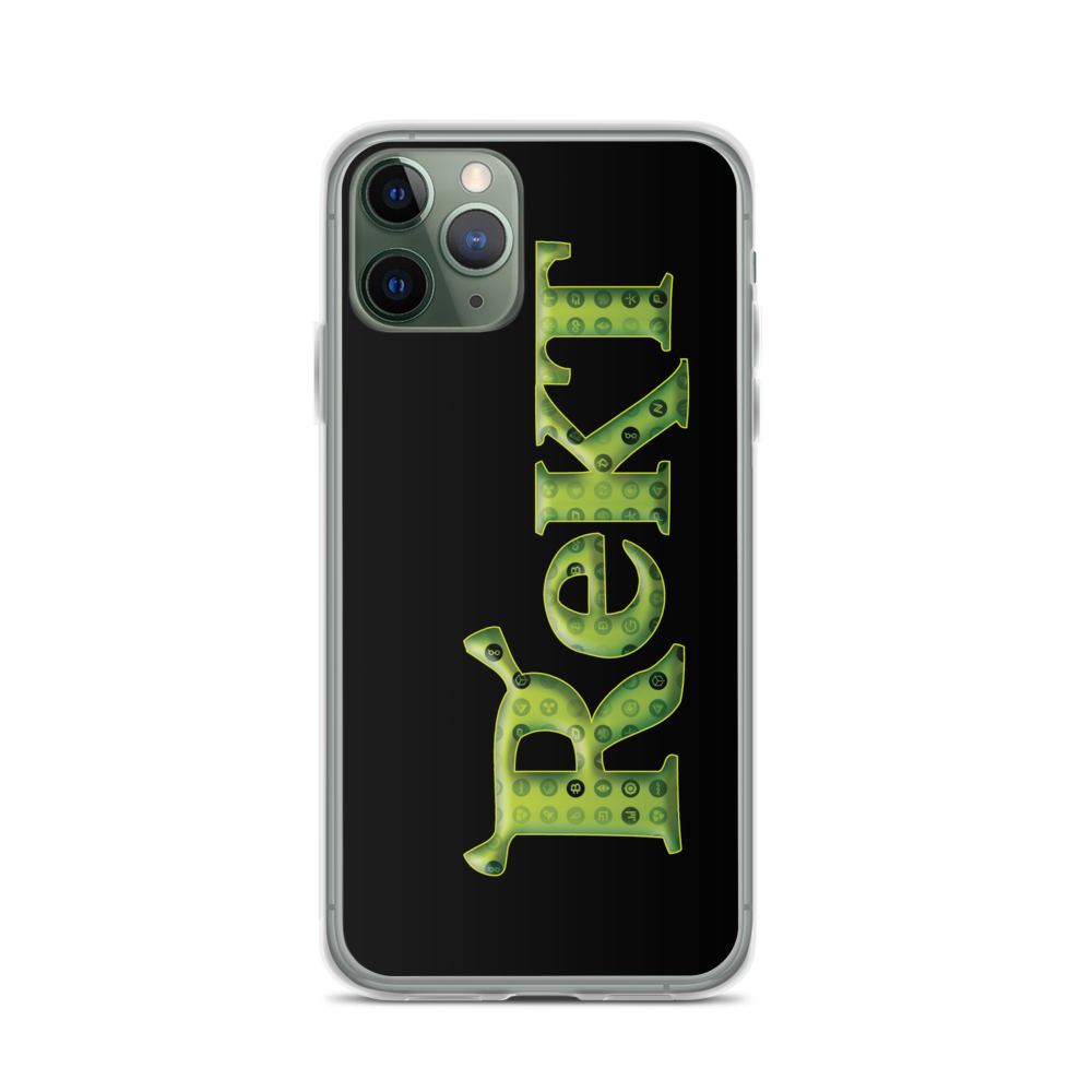 Rekt Crypto iPhone Case iPhone 11 Pro  - zeroconfs