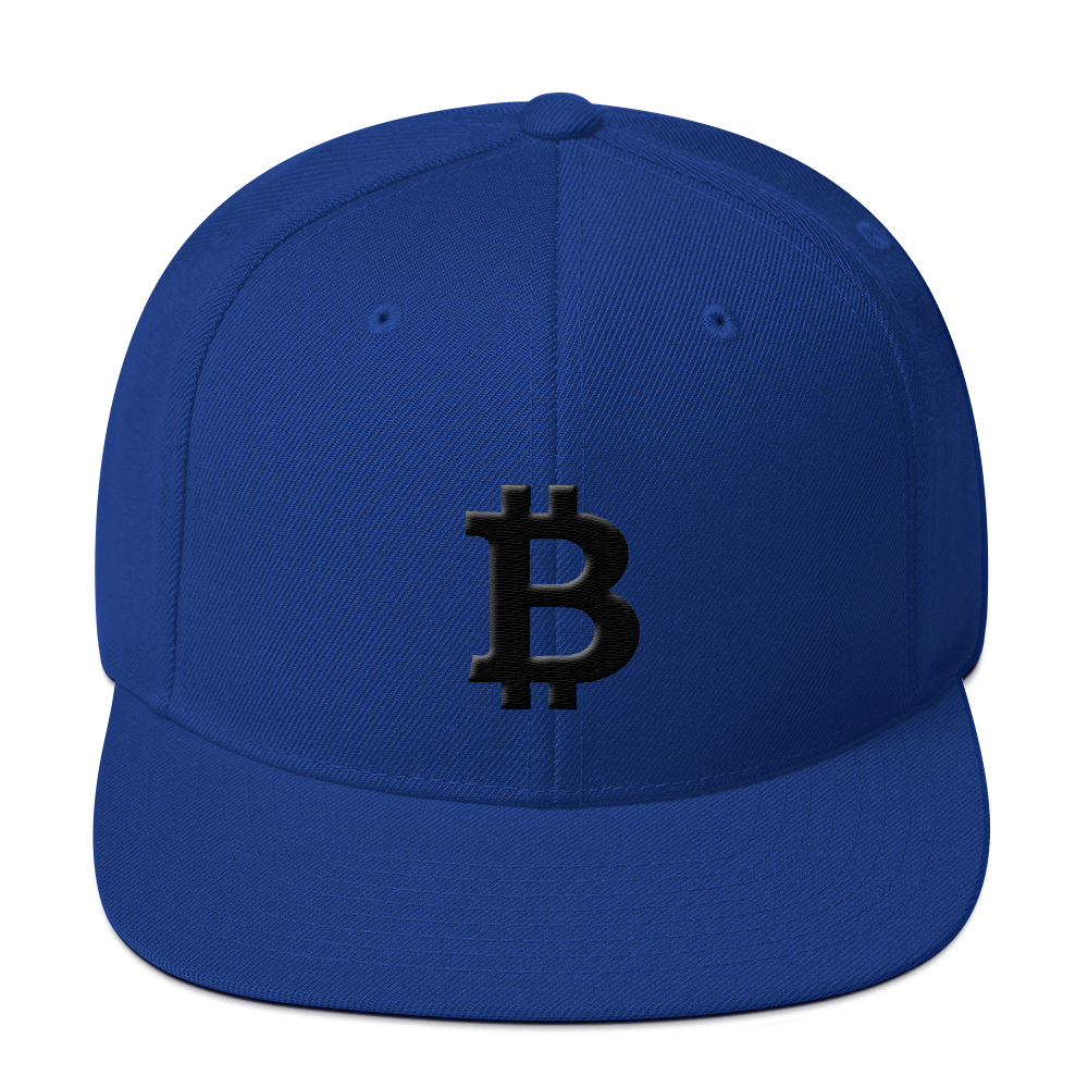 Bitcoin Blacknet SE Snapback Hat Royal Blue  - zeroconfs