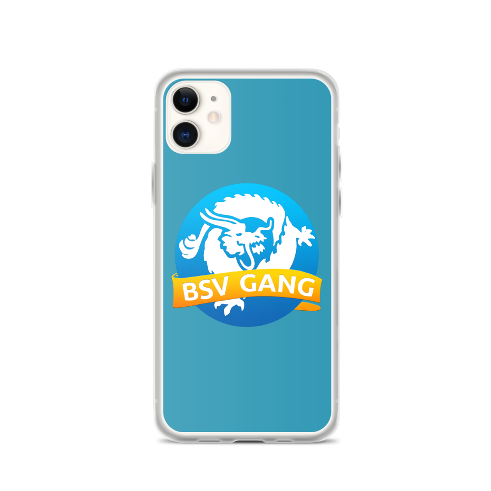 Bitcoin SV Gang iPhone Case Blue iPhone 11  - zeroconfs
