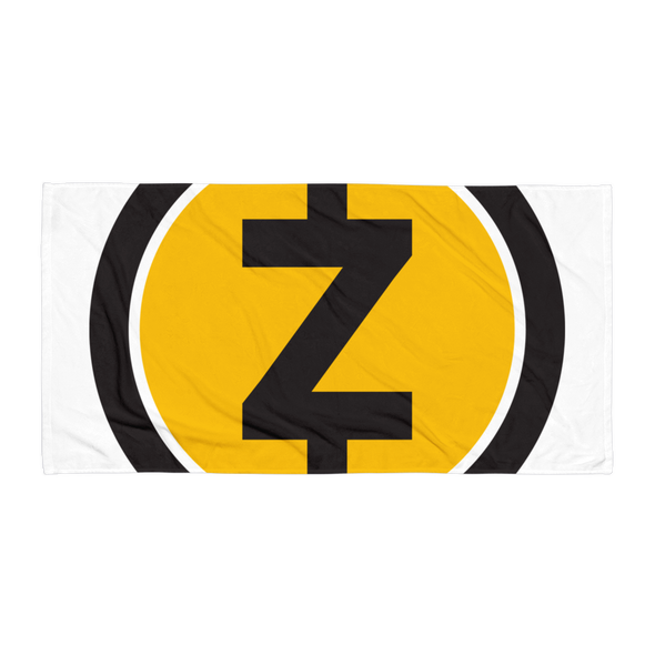 Zcash Beach Towel Default Title  - zeroconfs
