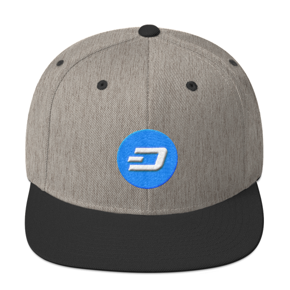 Dash Snapback Hat Heather/Black  - zeroconfs