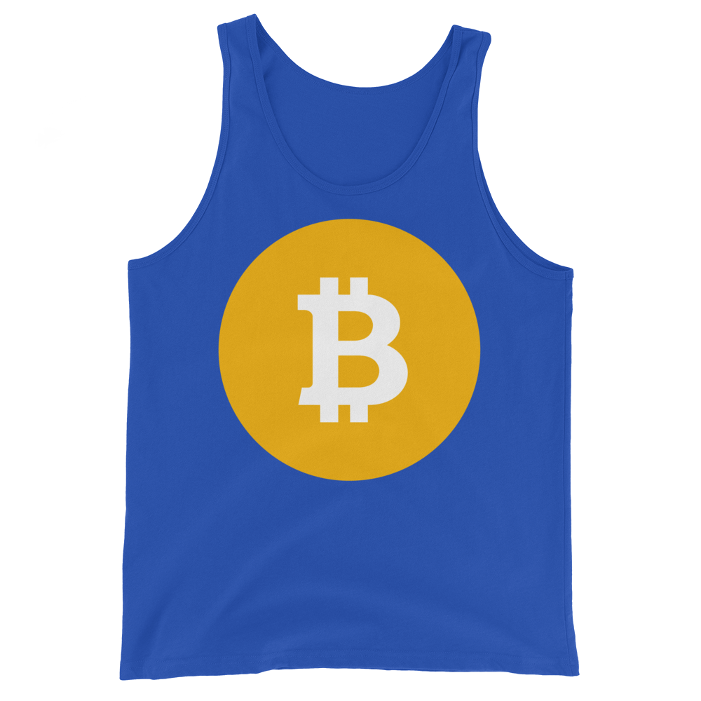 Bitcoin SV Logo Tank Top True Royal XS - zeroconfs