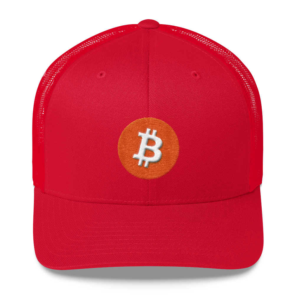Bitcoin Core Trucker Cap Red  - zeroconfs