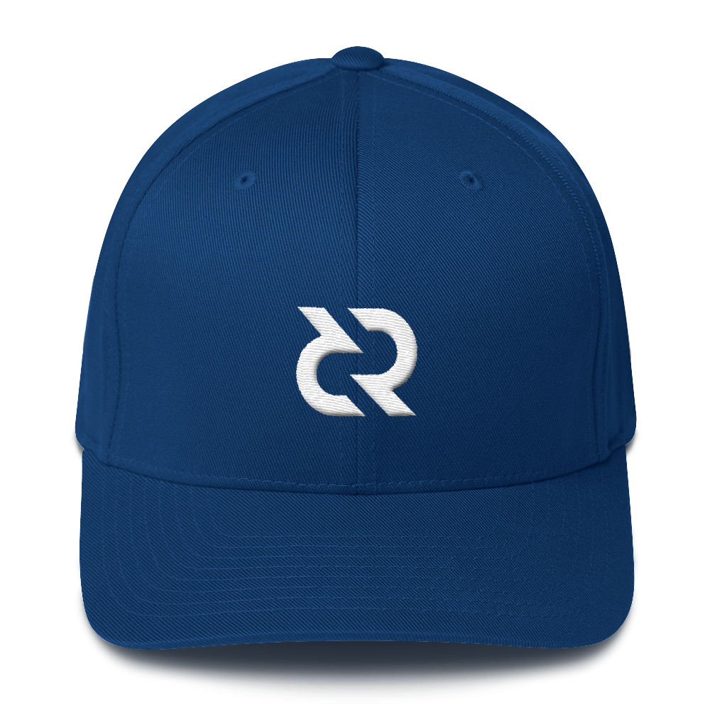 Decred Flexfit Cap Royal Blue S/M - zeroconfs